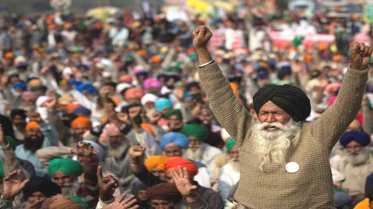 Indians residing in London supports Farmer agitations in India