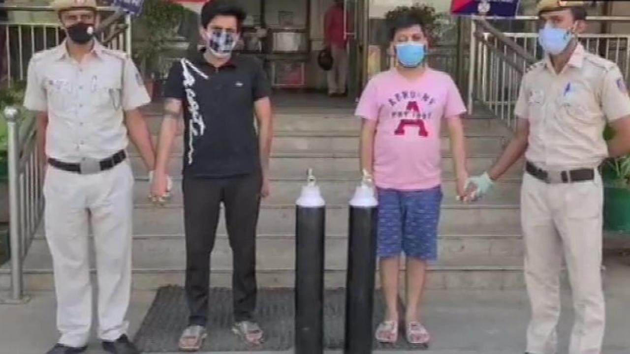 Exposing the black market of oxygen cylinders