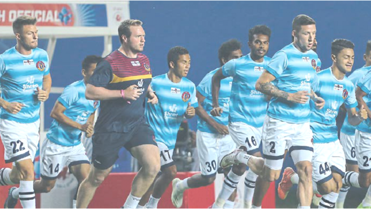 East Bengal FC is still struggling for victory in Indian Super League 2020