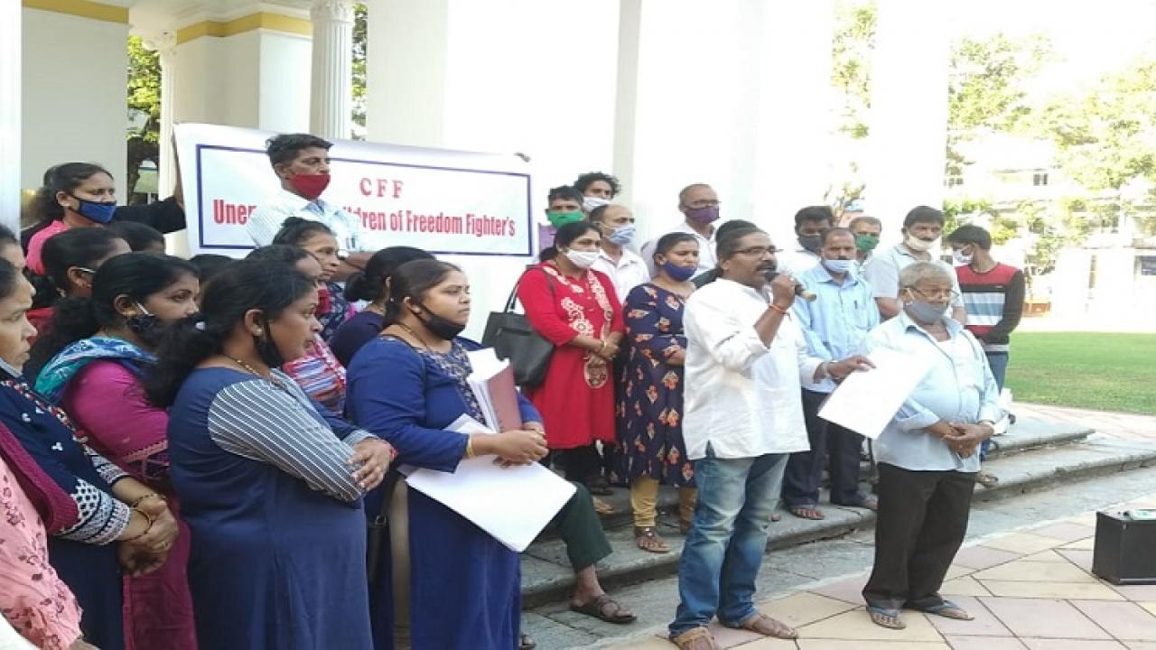 Children of freedom fighters warns to goa government