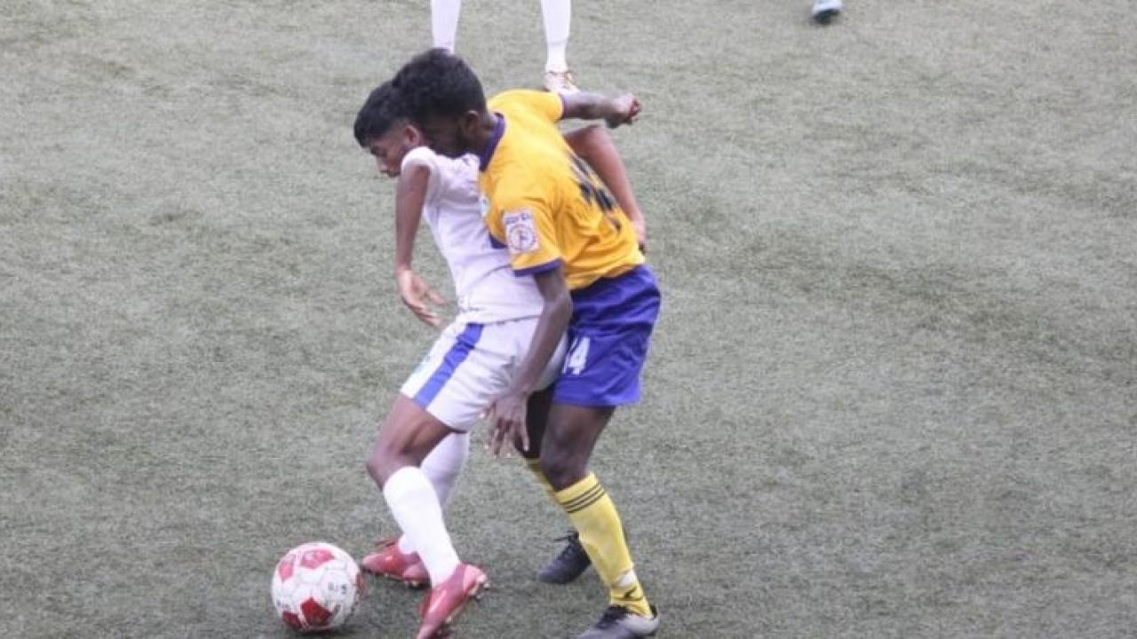 Goa Professional League Mineshs goal valuable for Seza Academy