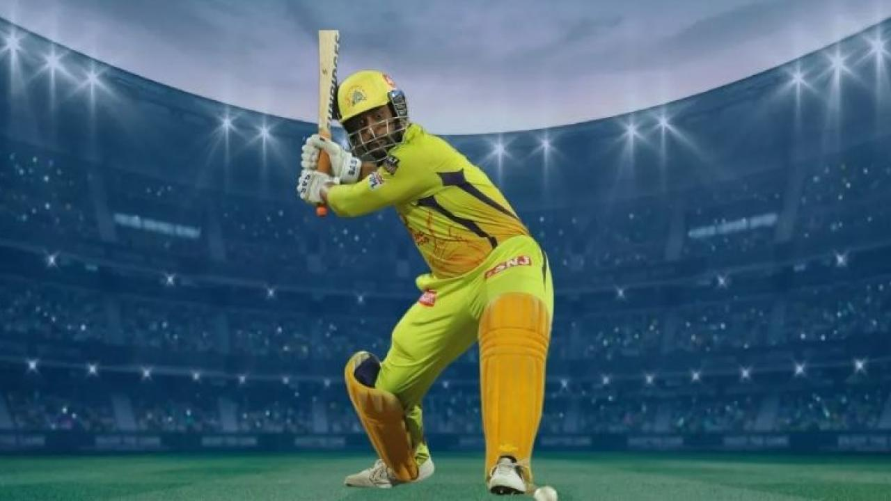 IPL 2021 Dhonis fuss during practice  Watch the video