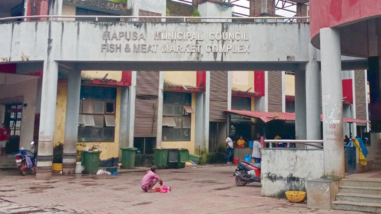 Fish Market in Mapusa has been operating illegally without the permission of the Health Department