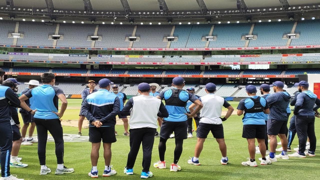 practice sessions for the second test match