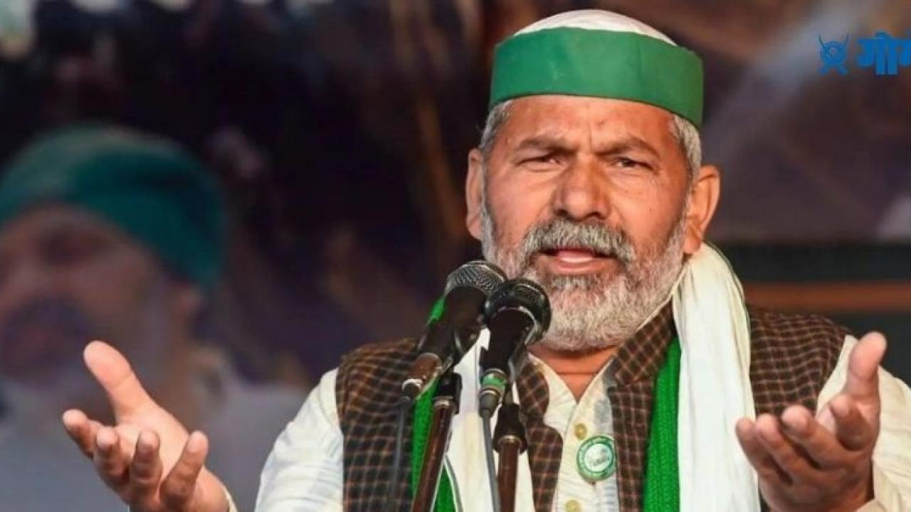 Farmer leader Rakesh Tikait warns Modi government not to return home unless our demands are met