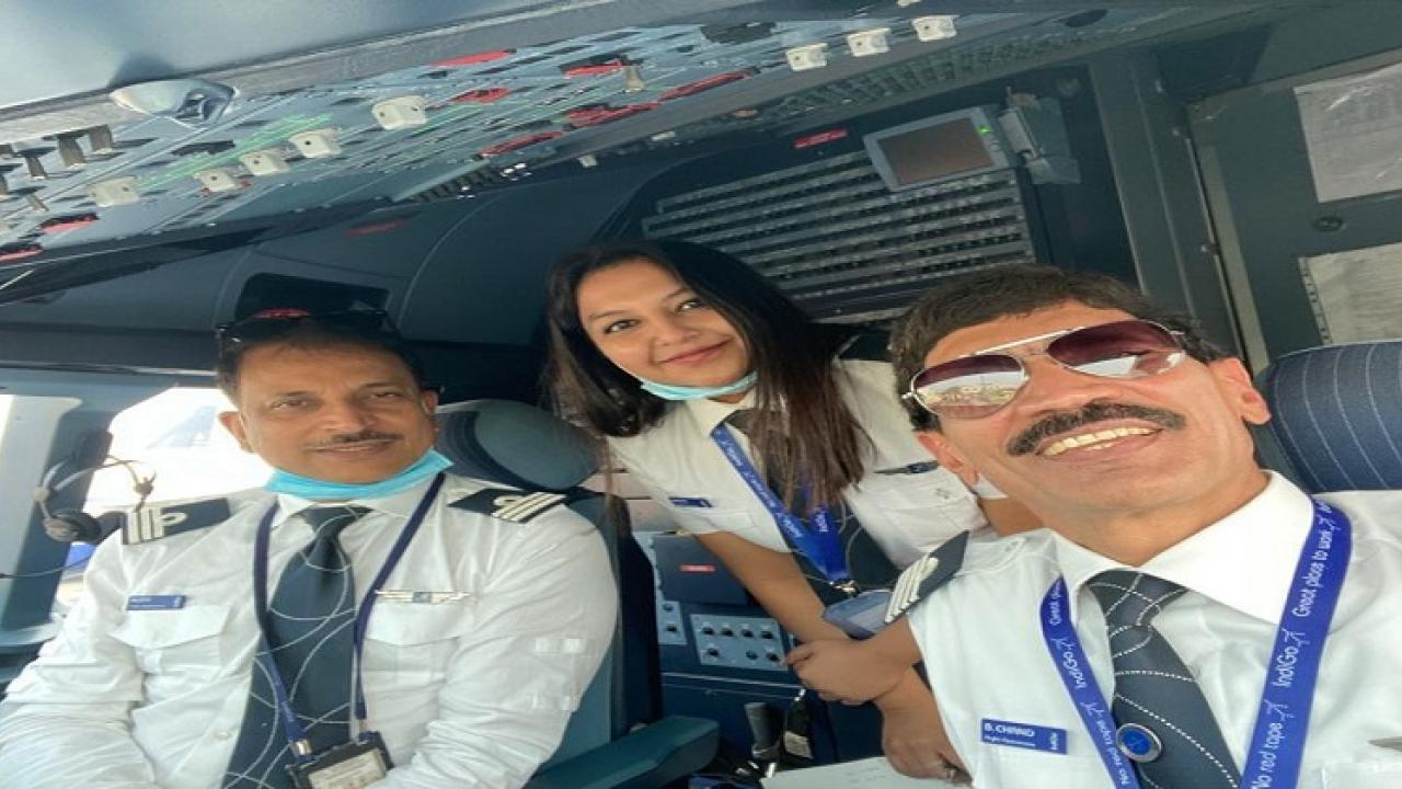 Pilot became a former Union Minister Passengers experienced unforgettable air travel