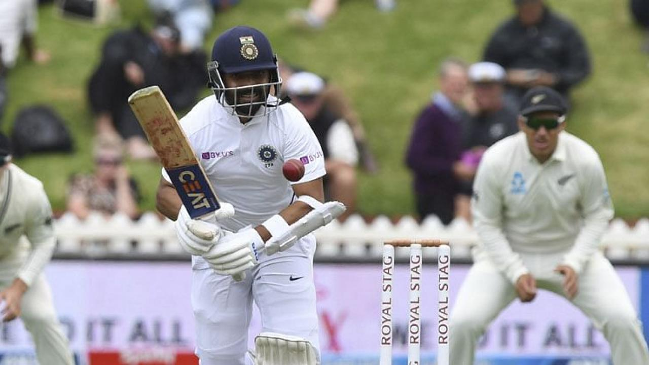 INDvsAUS 3rd test day 3 Pujara Rahane depart quickly following Rohit Sharma and Gill