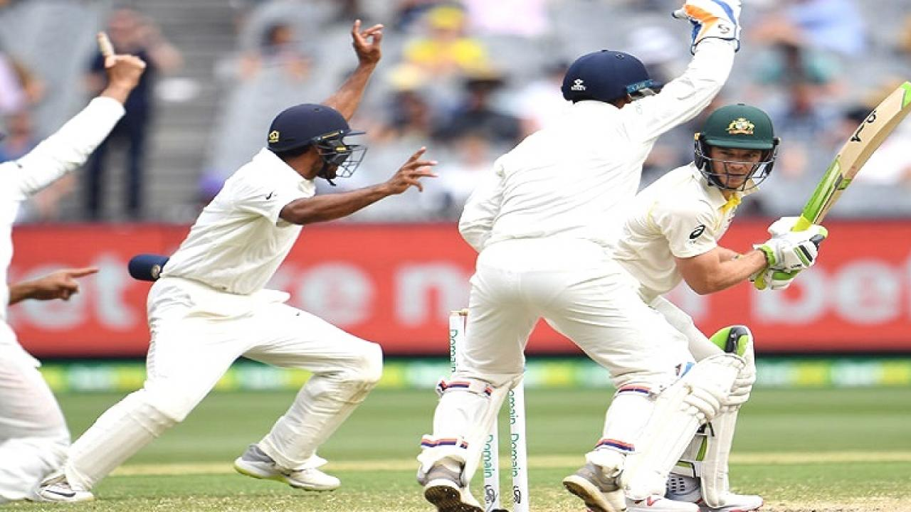 India Vs Australia test series starts today Indian won the toss and elected to bat first