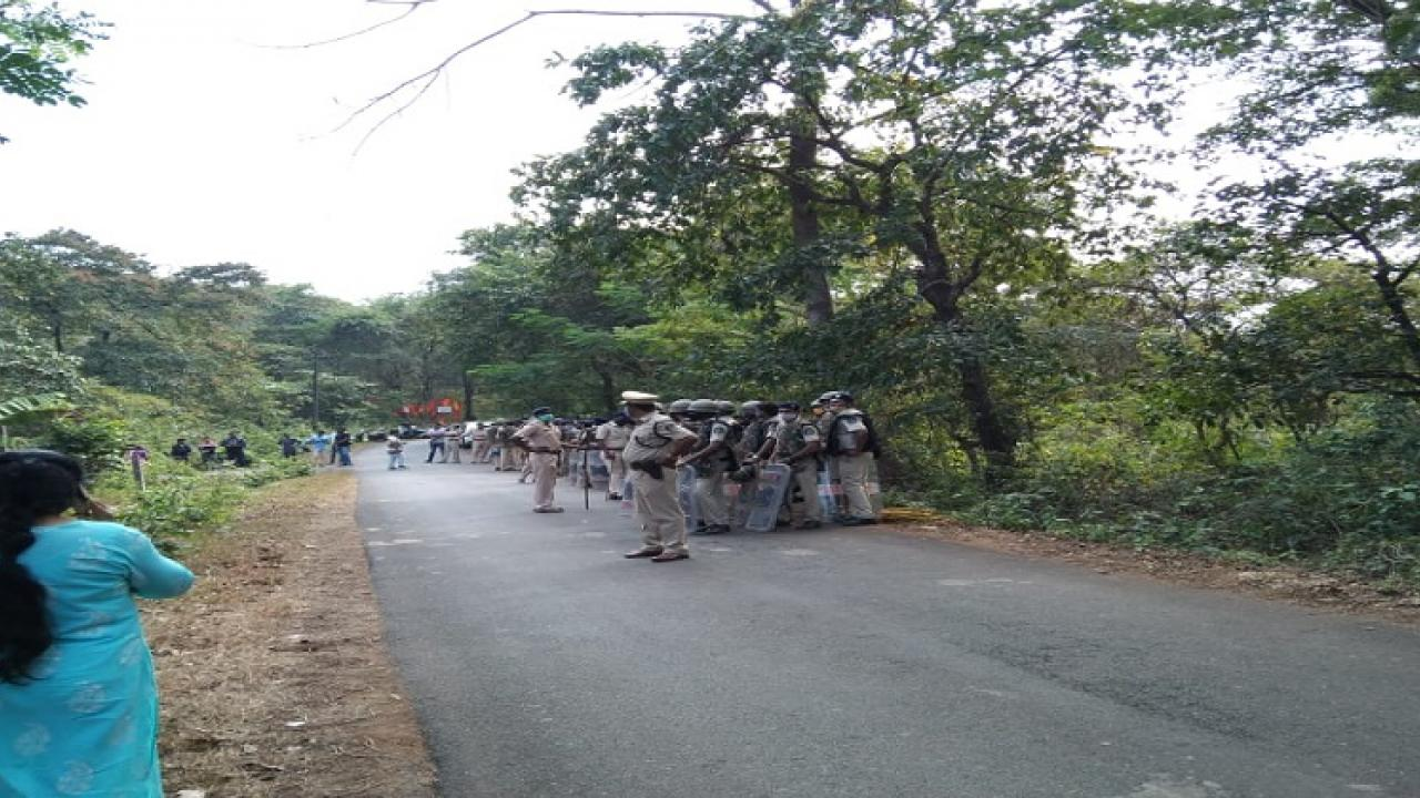 Many people arrested in IIT agitation case