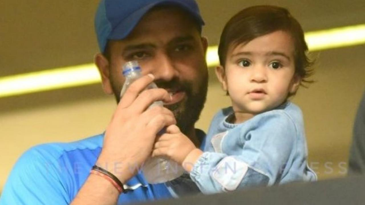 IPL2021 Mumbai Indians have shared a video of Rohit Sharma daughter Samaira on social media