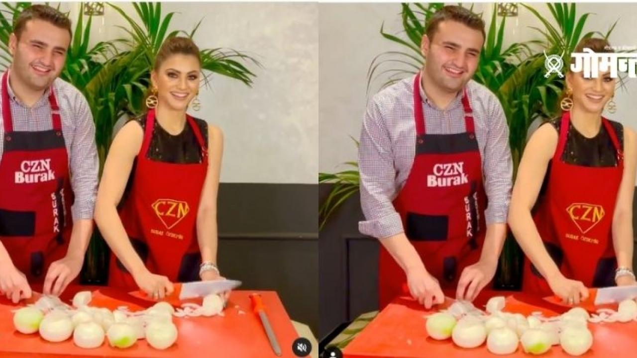 On the day of birth Urvashi Rautela chopped about 10 kg of onions