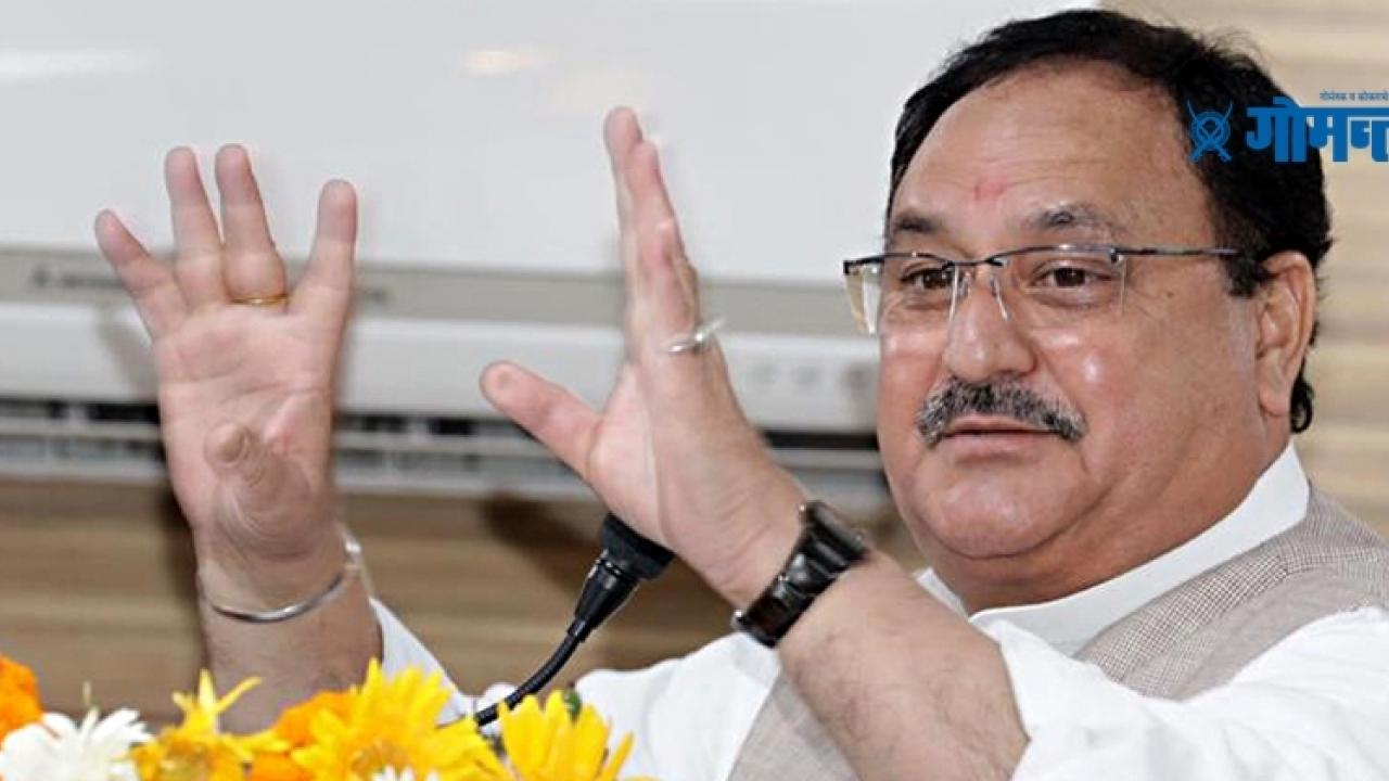 West Bengal election2021 BJP national president JP Nadda said pawri ho rahi hai