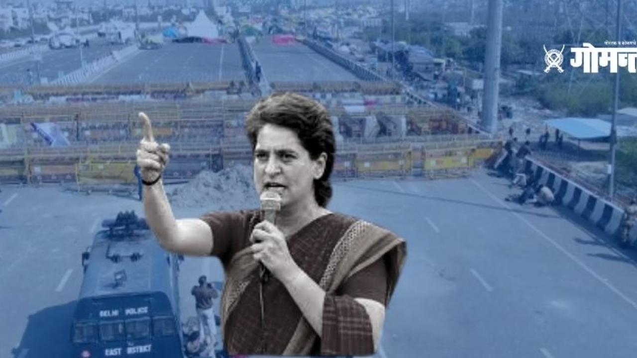 Priyanka Gandhi questions Modi government Why are you afraid of the wall of fear