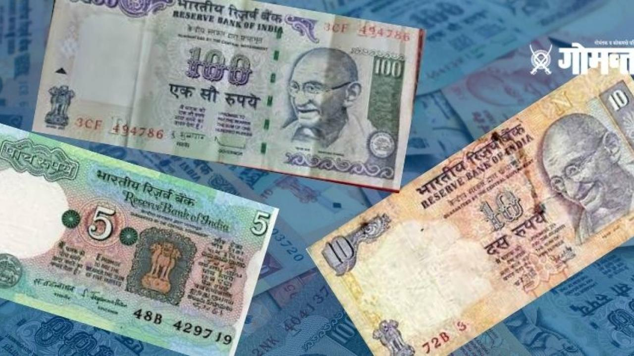 The claim of closing of old notes of Rs 100 10 and 5 is false Explanation given by PIB