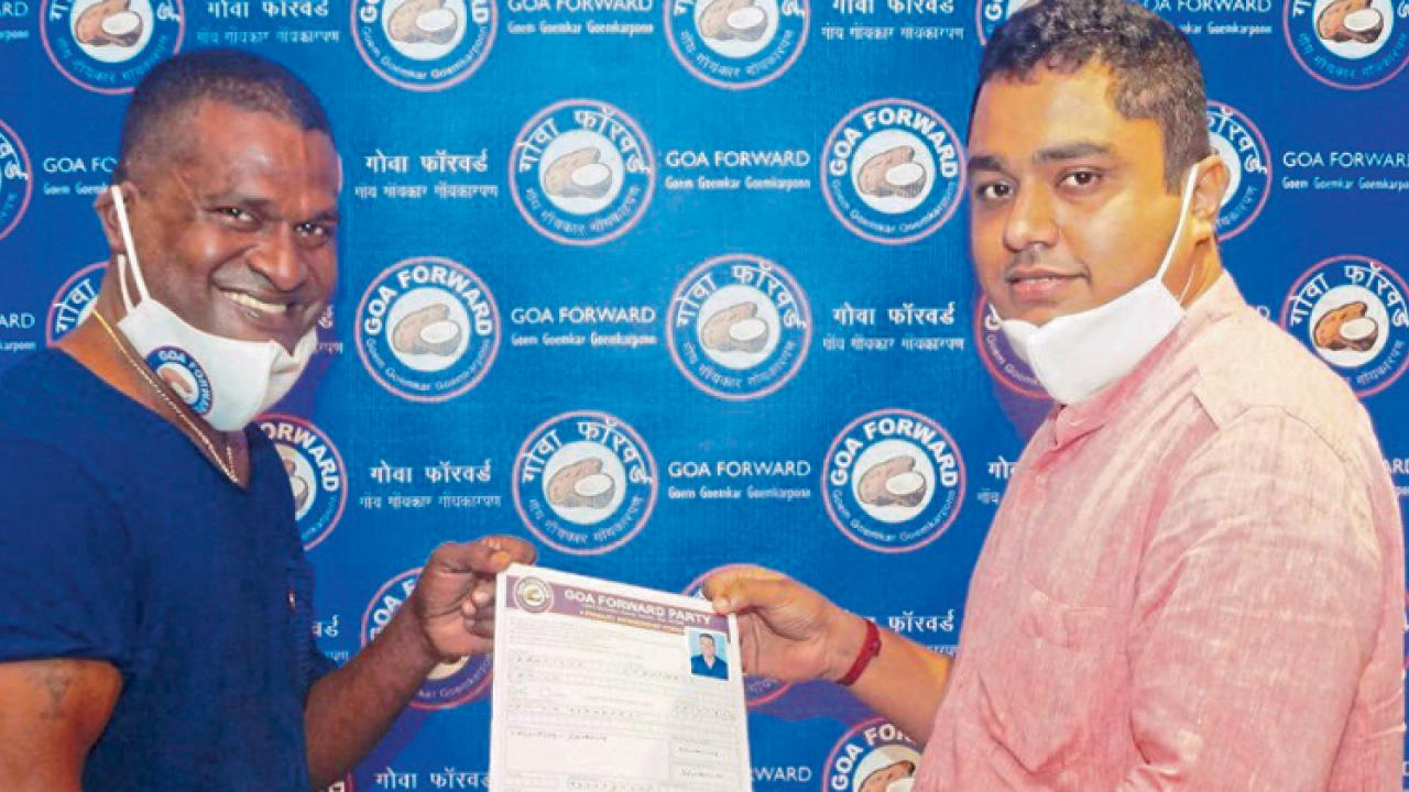 Goa: Francisco Fernandes join Goa Forward Party in Fatorda