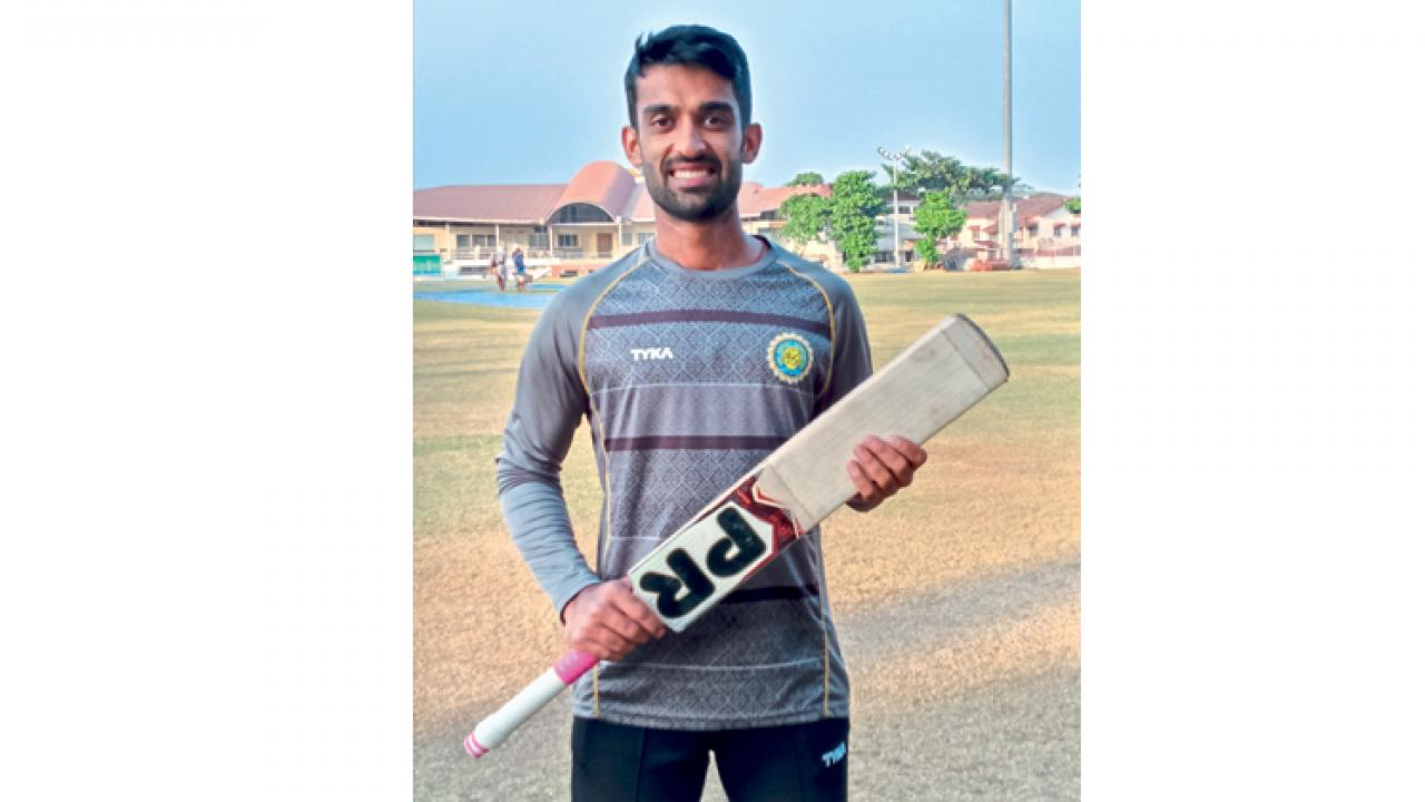 Goa lad sumiran Amonkar will debut in Ranji cricket soon- Kishor Petkar