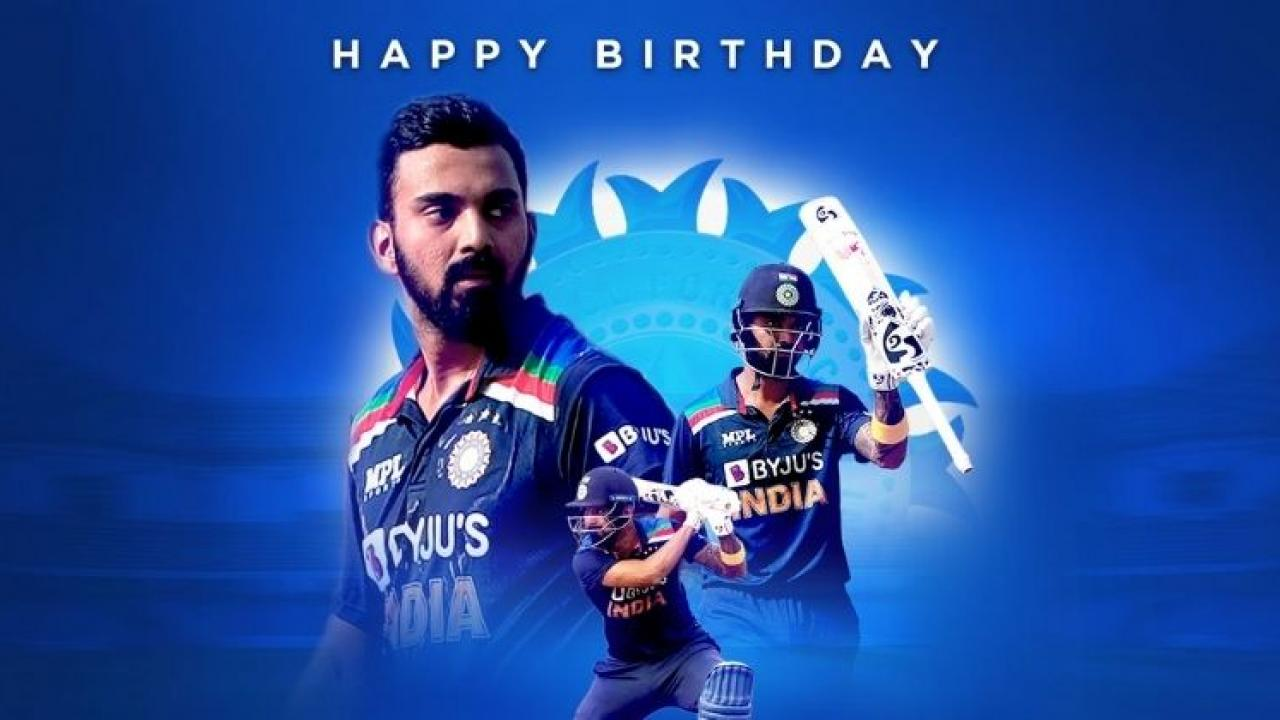KL Rahul birthday wish post