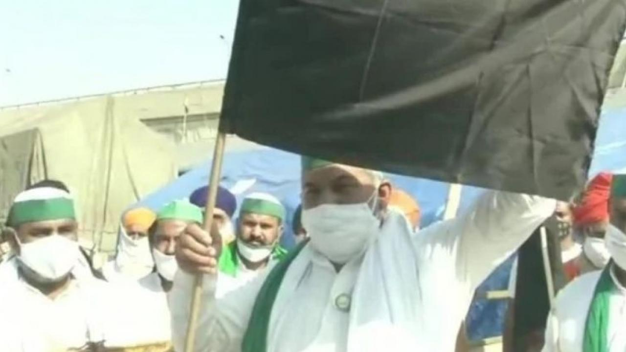 Farmers' agitation against agricultural laws completed 6 months, today declared as' Black Day 'by farmers