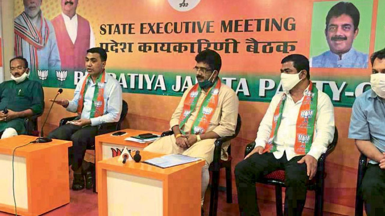 Goa: BJP assured jobs in the new year