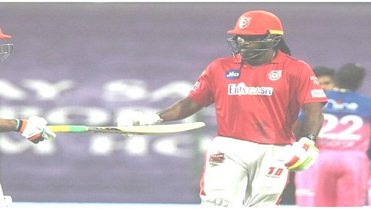 Strict action against Chris Gayle