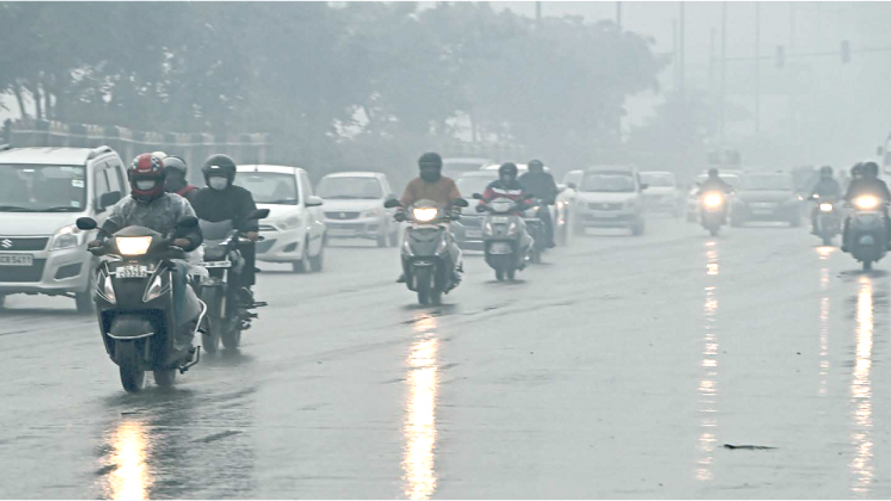 Parts of the national capital Delhi received light rain on Saturday morning