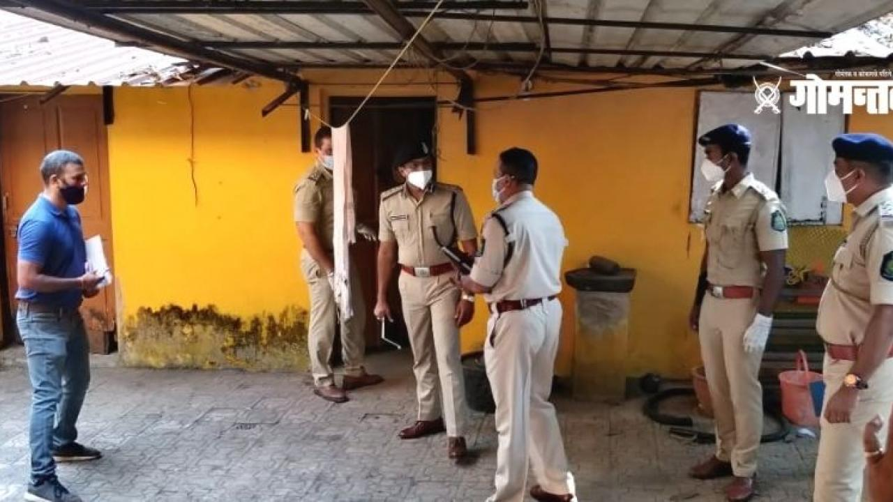 Double murder in Margaon two senior citizens have been murdered
