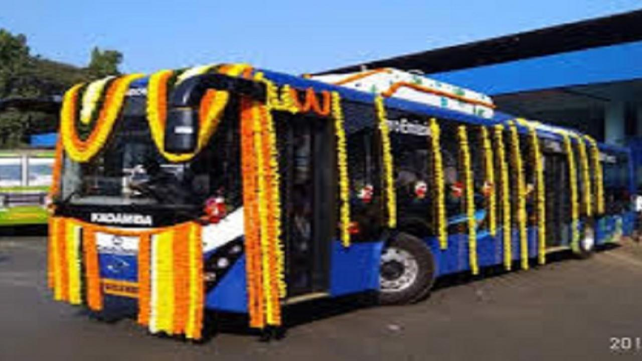 Electric buses to arrive by December ..!