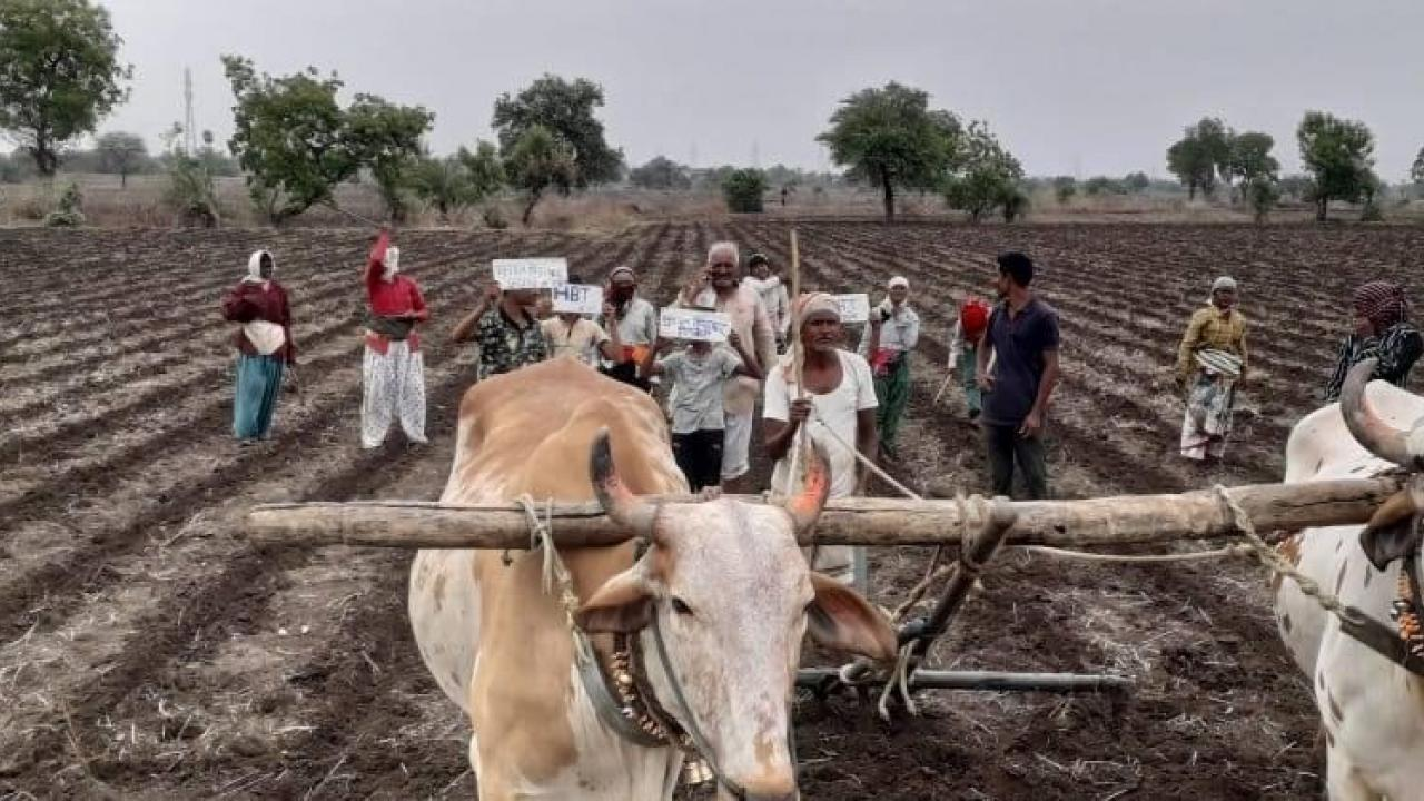 Attempt by the central government to defame the farmers protesters