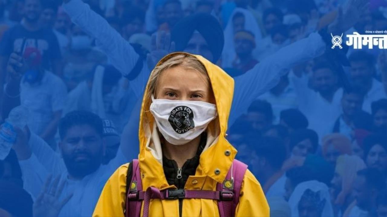 First arrest in Greta Thunberg toolkit case Bangalore based environmental activist arrested