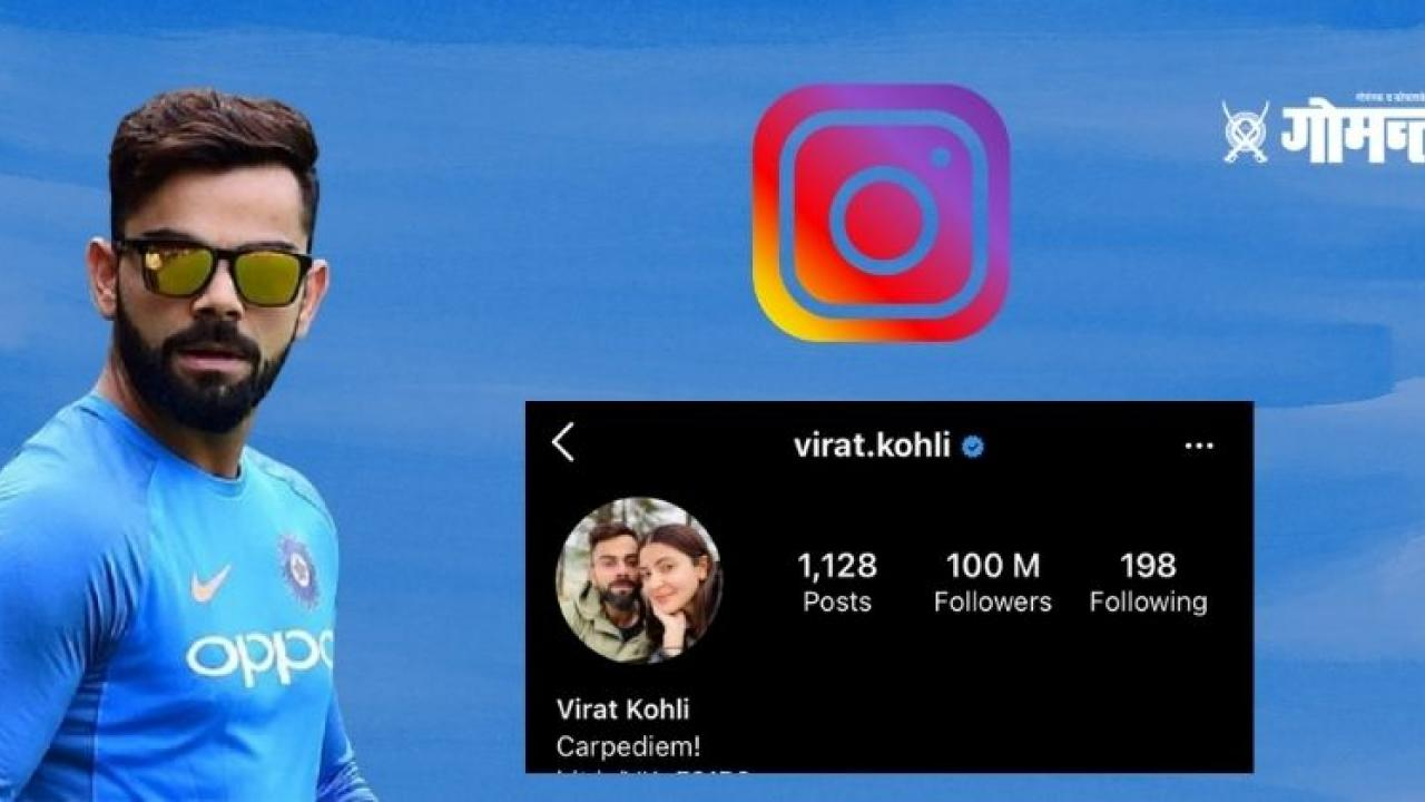 10 crore followers on cricketer Virat Kohli Instagram first Indian who achieved this feat