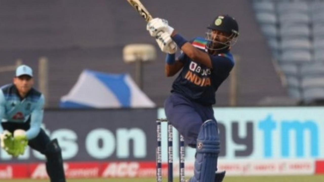 Krunal Pandas world record in debut match