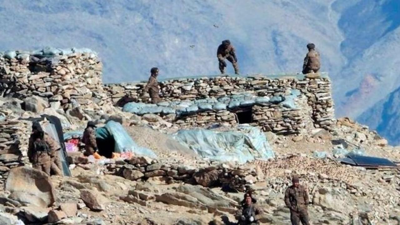 Chinese troops re-enter East Ladakh