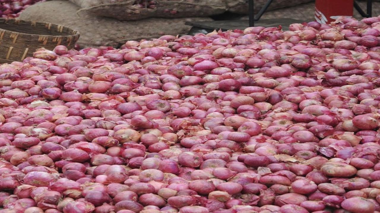 Storage limit of 25 tons for onions