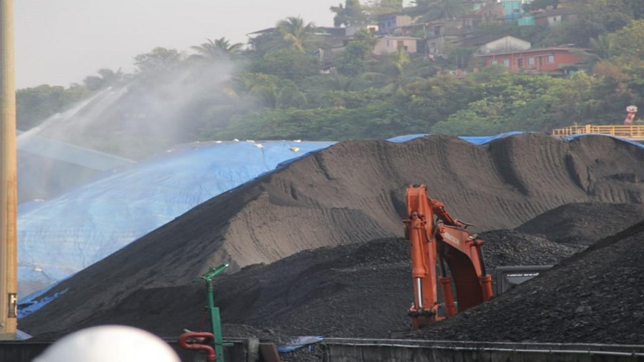 C M Pramod Sawant instructed to Goa State Pollution Control Board to check the current situation of pollution caused by coal handling in Vasco