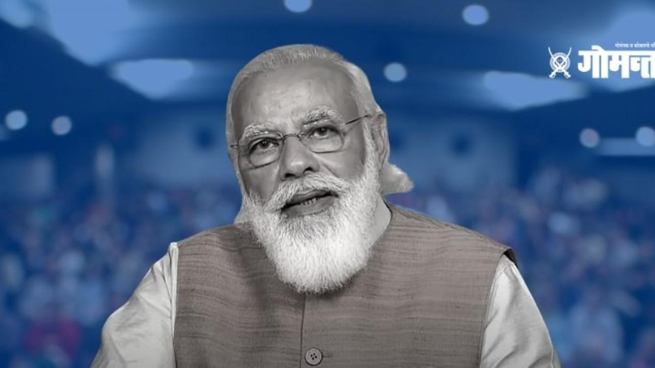 PMO answers about Who writes the speeches of Prime Minister Narendra Modi