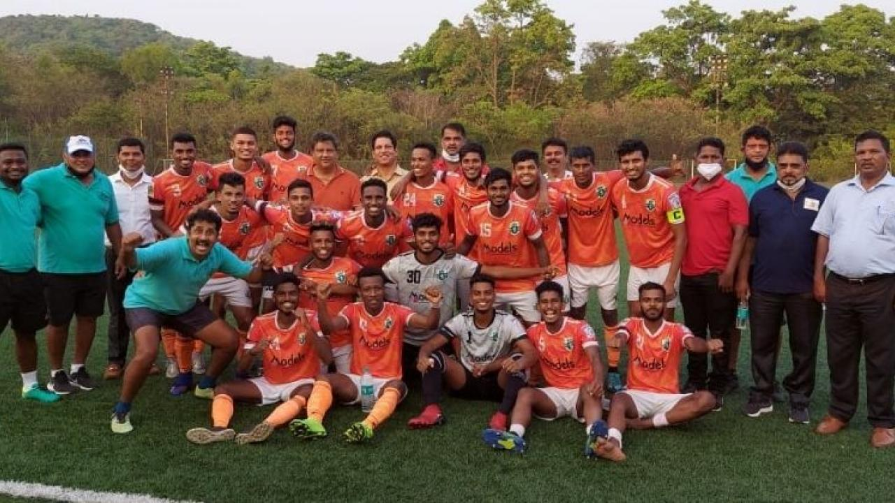 Goa Professional League Sporting Club The Goa Sixth Champion