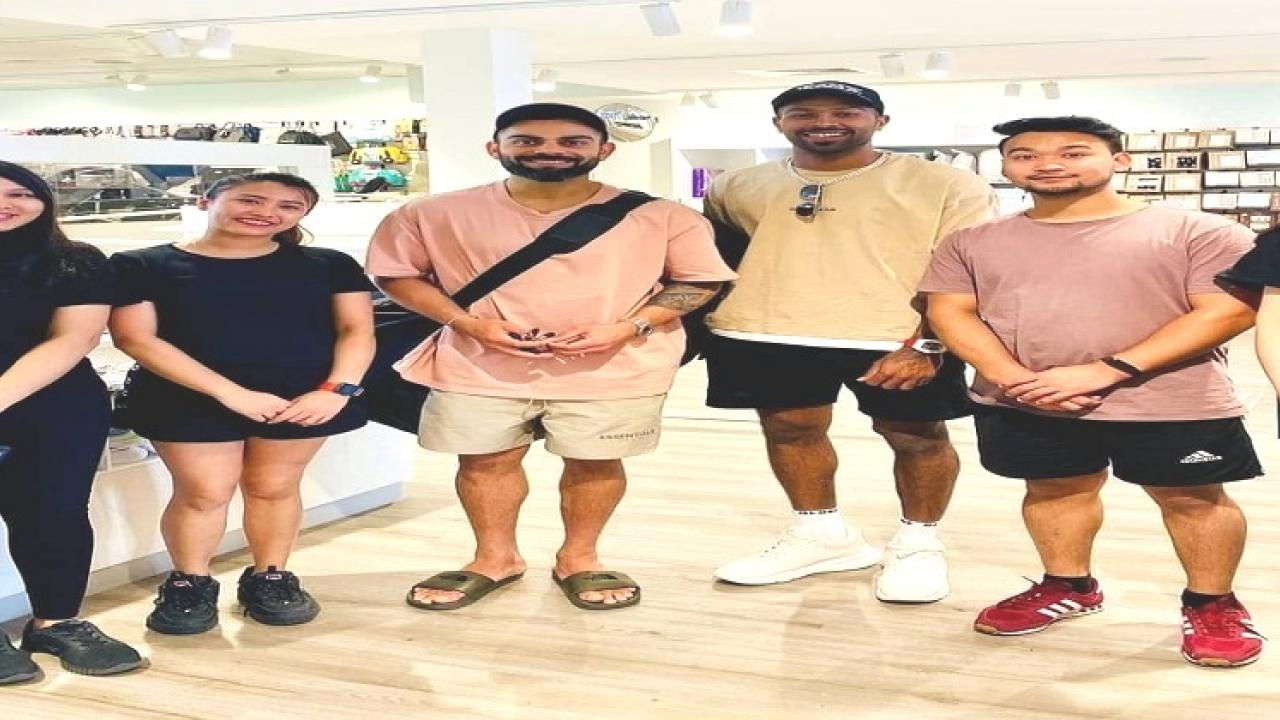 Virat Kohli, Hardik Pandya had also breached corona protocols while shopping in the baby house
