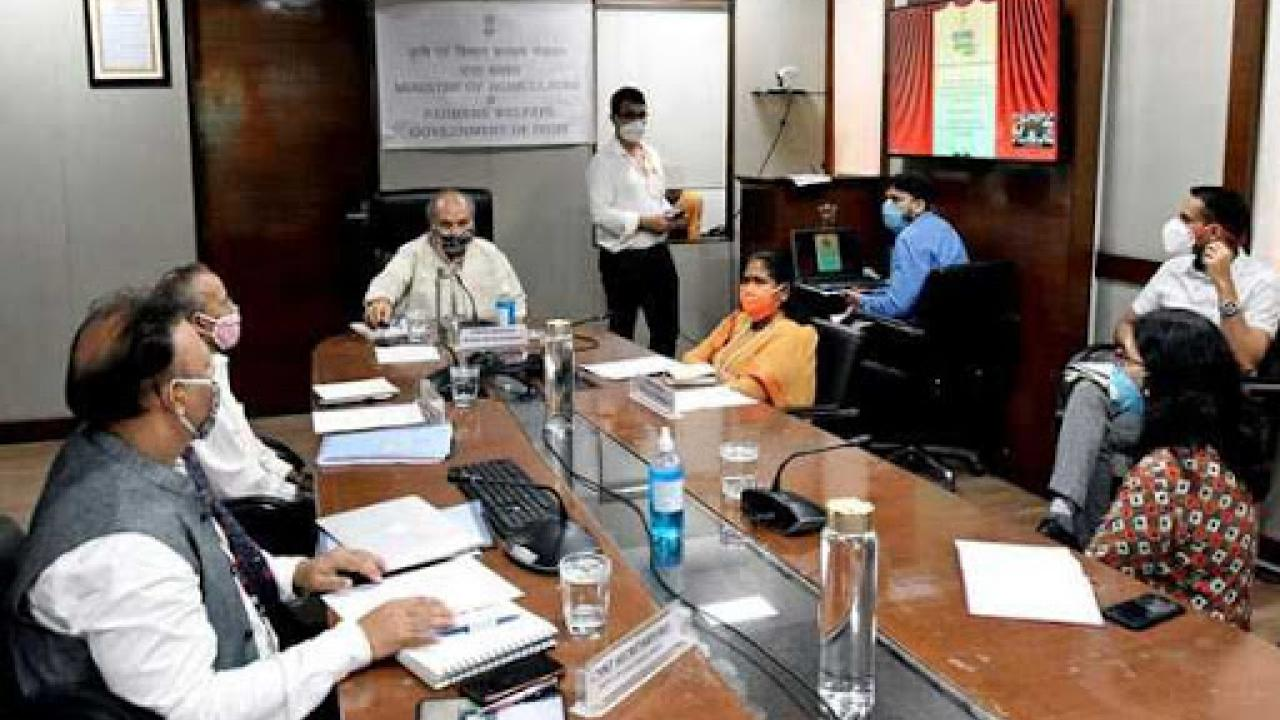 Finance Commission held a meeting with the Ministry of Rural Development