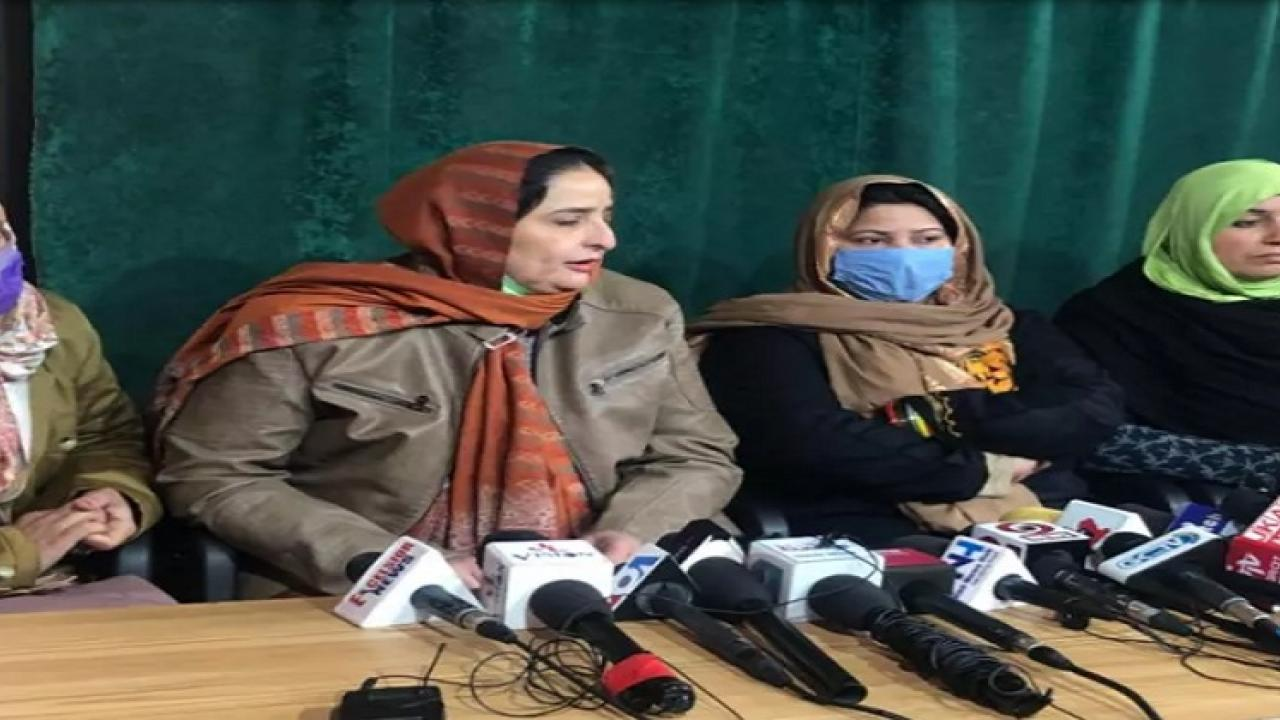Kashmiri womans of Pakistani descent have demand to the Indian government to send them to Pakistan occupied Kashmir