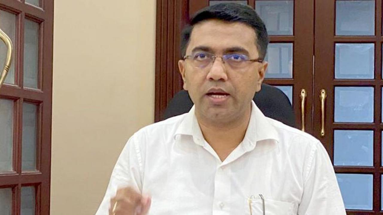 There is no plan of cabinet reshuffle said Goa Chief Minister Dr Pramod Sawant