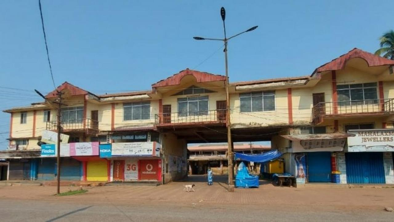Decrease in the number of Corona active patients in Bicholim area of Goa