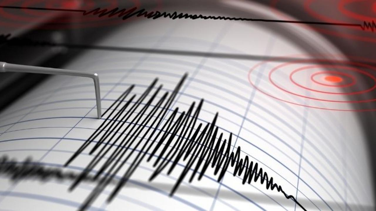 Gujarat Earthquake An earthquake of magnitude 3 8 on the Richter scale South of Rajkot