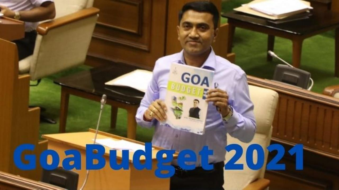 Goa Budget 2021 Pramod Sawant Presented  A budget that pleases all sections of the society in the Assembly