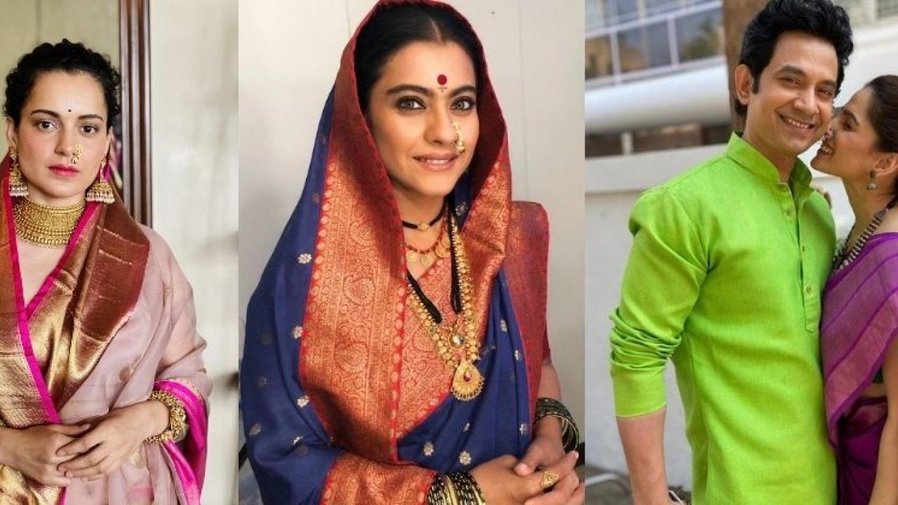 Celebrities Celebrate Gudi Padwa festival on social media