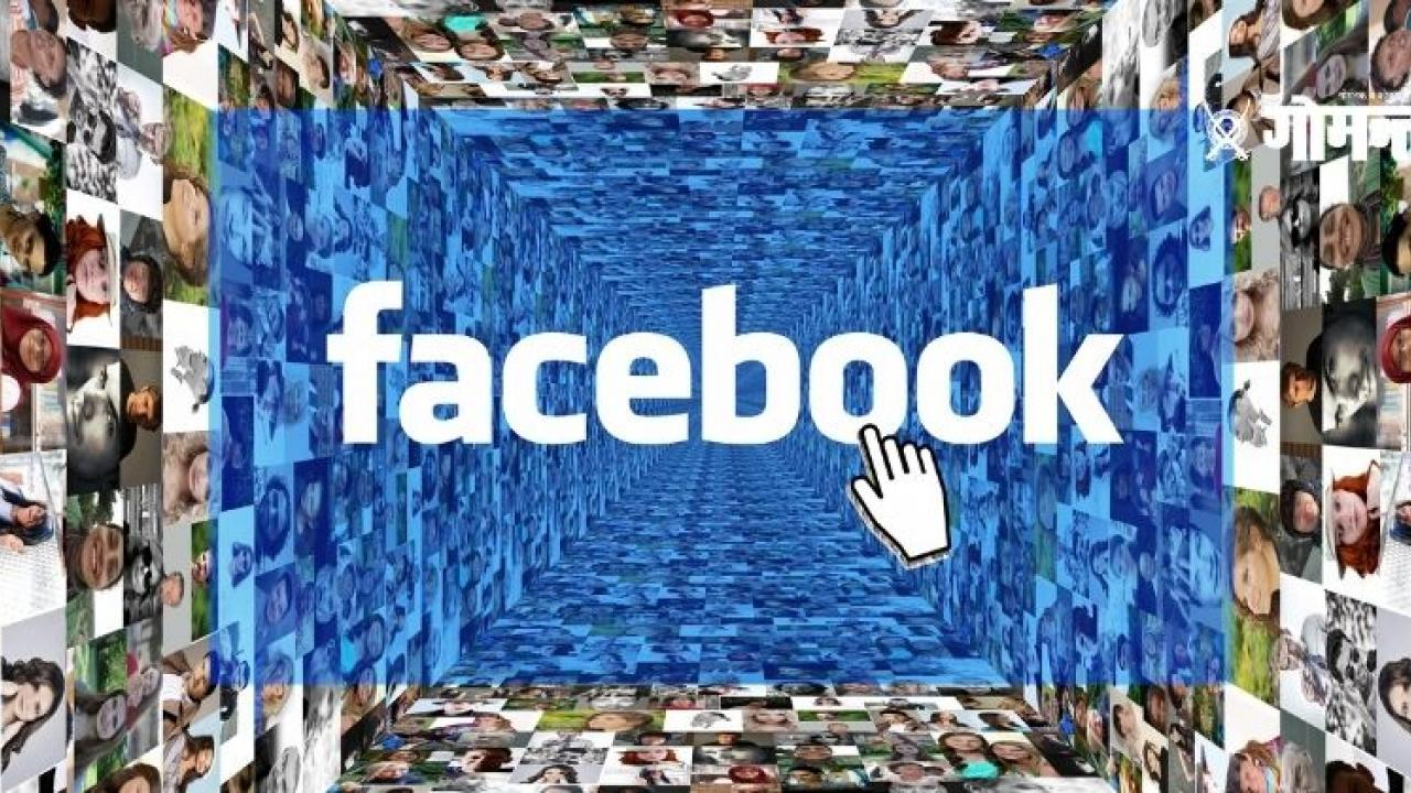 Shares of Facebook collapsed
