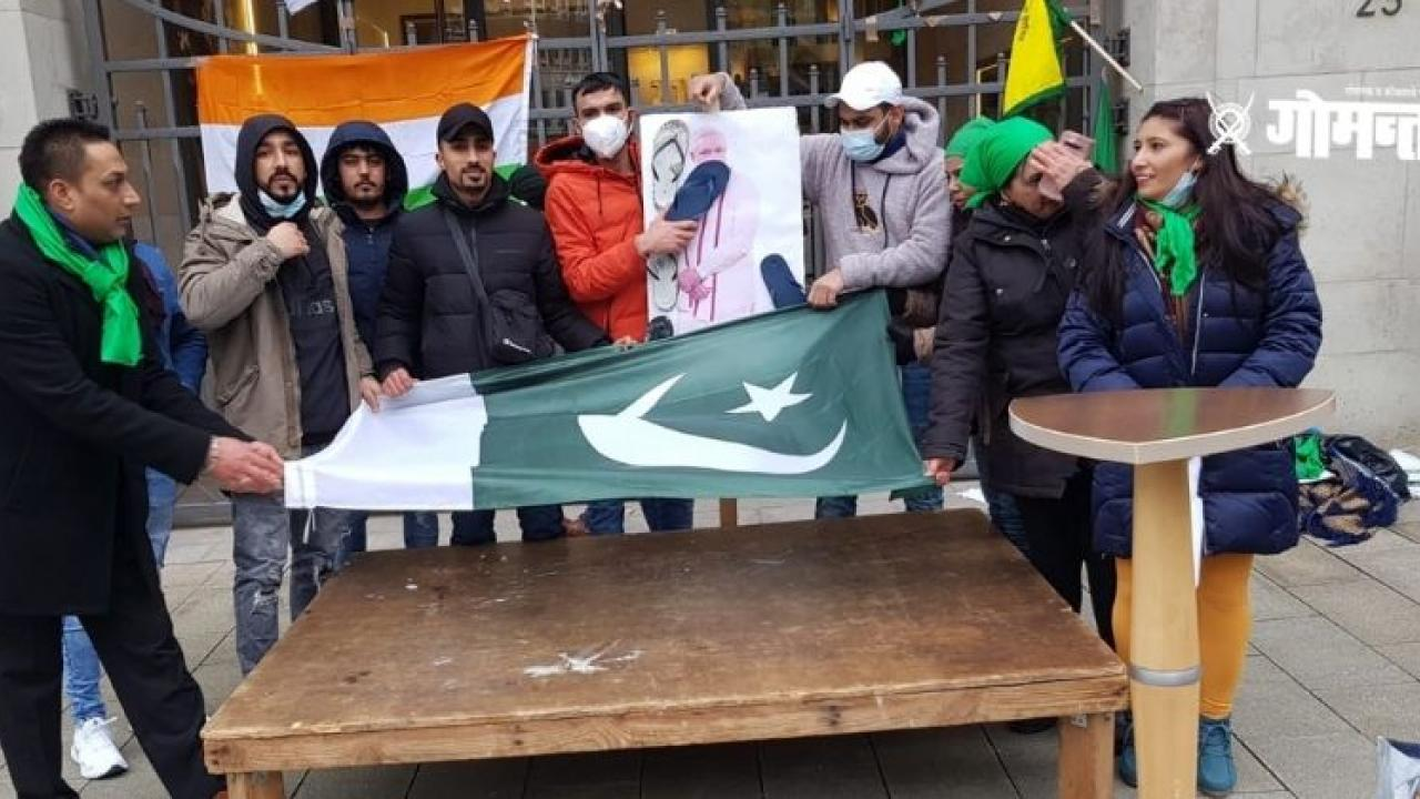 BJP blames Congress for waving Pakistani flags during farmers agitation in Germany