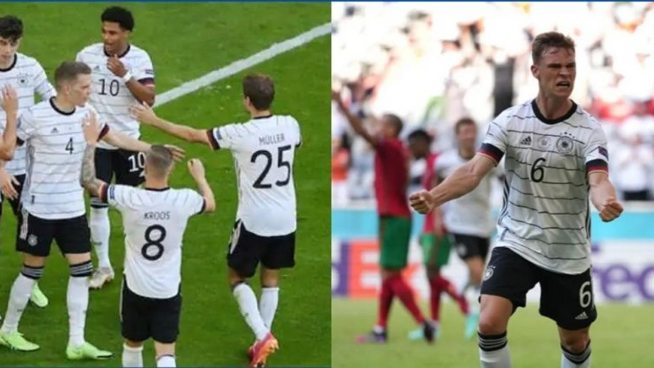 Euro Cup 2020 Germany enters the knockout stages due to Super Sub