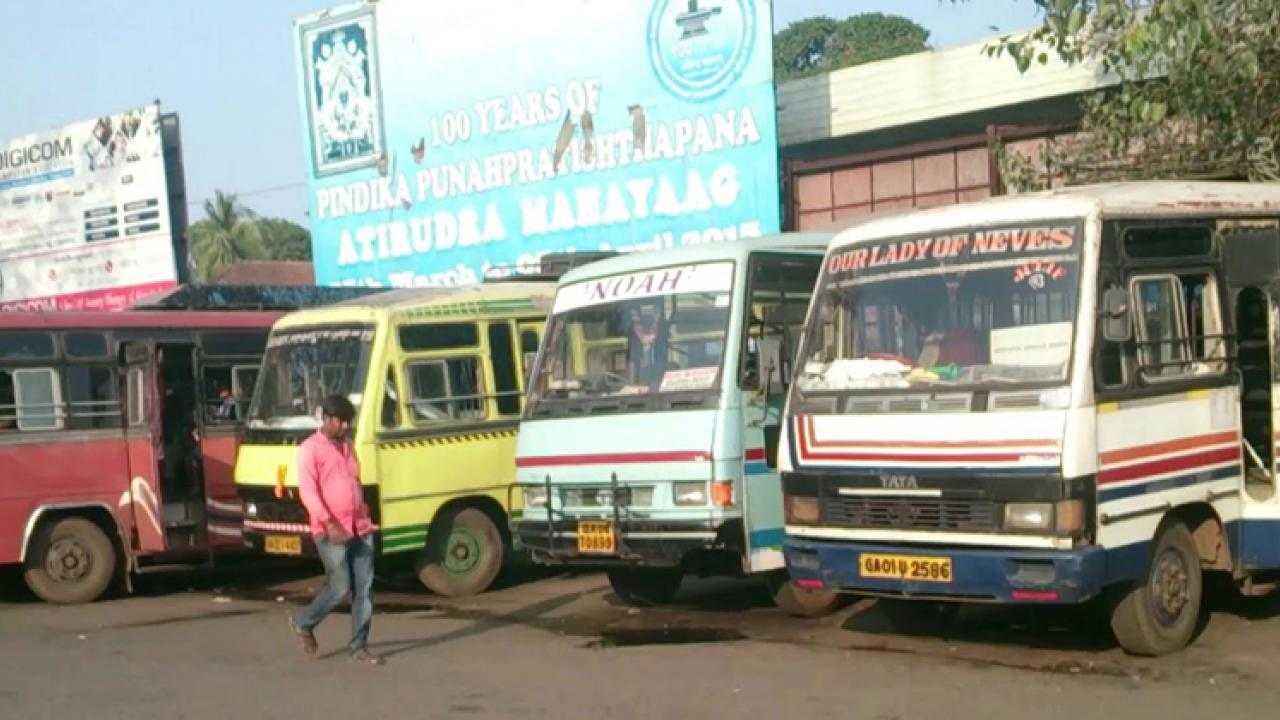 Goa: Commuters suffer as few private buses on road