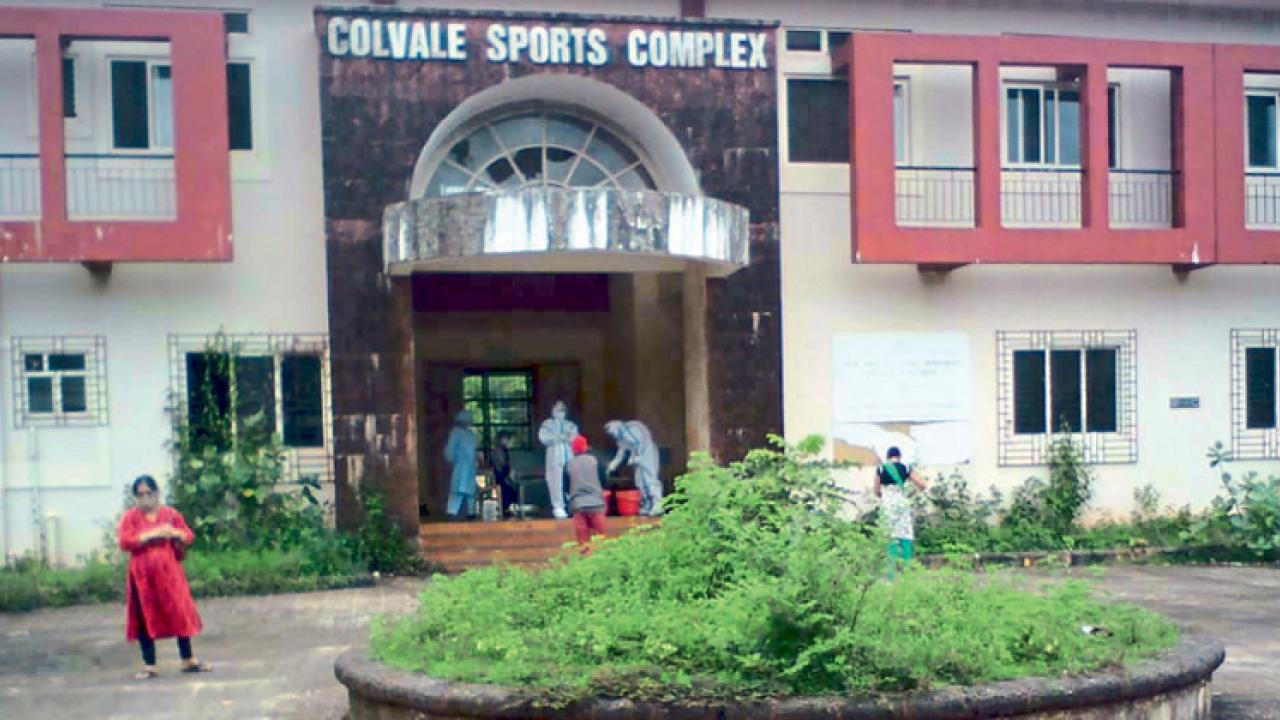 Covid tests center now underway at Colavle Sports complex