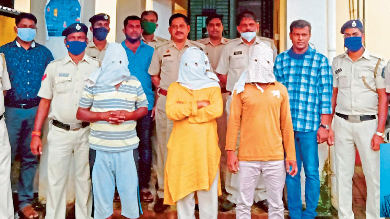 Goa: Four arrested for murder of labour contractor in Nhaveli-Sakhili